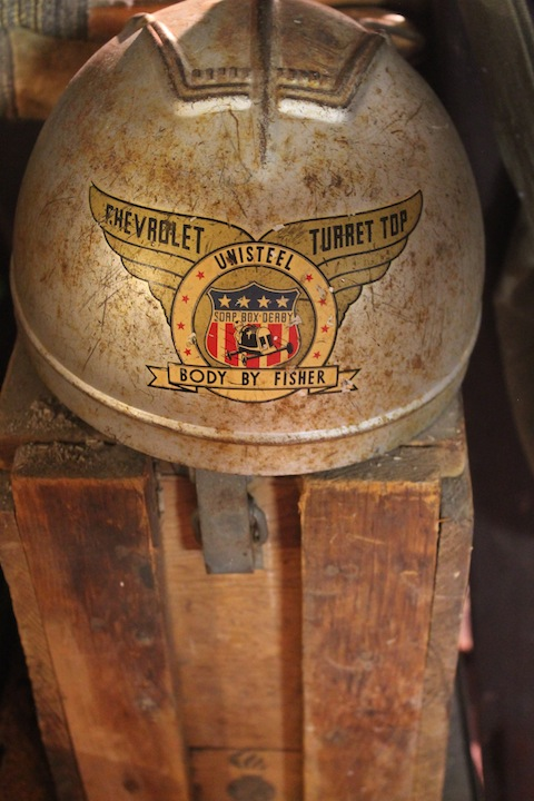 SoapBox Derby Helmet circa 1930's
